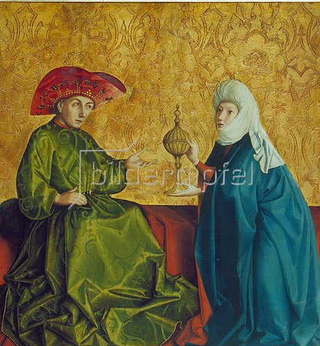 Konrad Witz: Die Königin von Saba vor Salomo. Um 1435/37.