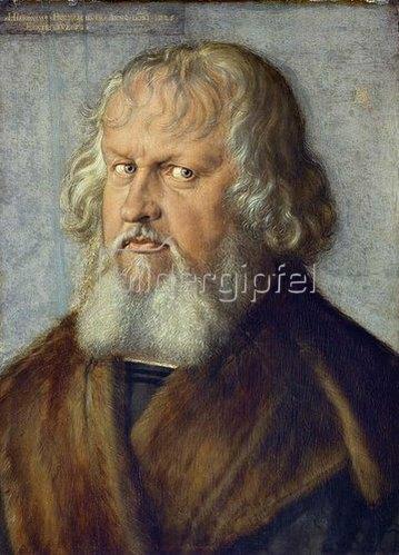 Albrecht Dürer: Hieronymus Holzschuher, Bildnis, 1526