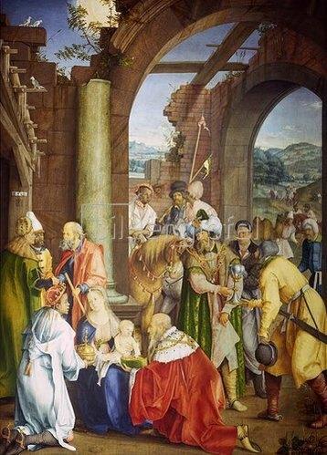 Hans (Suess) von Kulmbach: Die Anbetung der Könige. 1511.