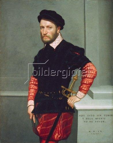 Giovanni Battista Moroni: Don Gabriel de la Cueva, Herzog von Albuquerque. 1560