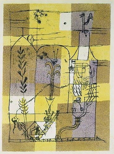 Paul Klee: Märchen à la Hoffmann. 1921.