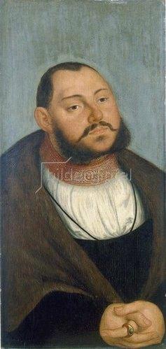 Lucas Cranach d.Ä.: Kurfürst Johann Friedrich der Grossmütige.