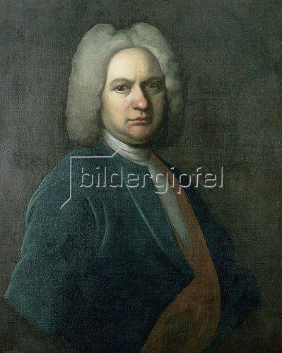 Johann Eberhard Ihle: Bildnis Johann Sebastian Bach.