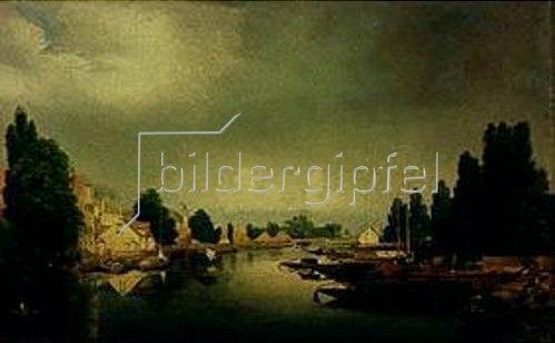 Johann Philipp Eduard Gaertner: Havel-Landschaft. 1840.