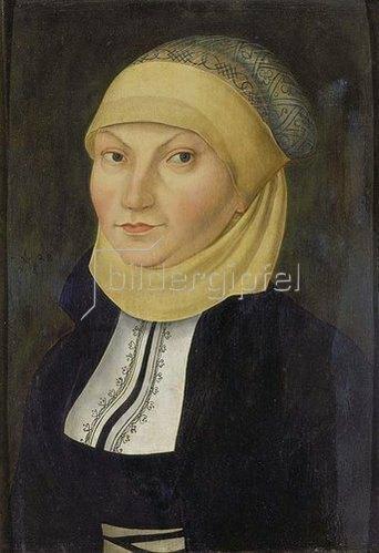 Lucas Cranach d.Ä.: Katharina von Bora, Gemahlin Martin Luthers, Bildnis