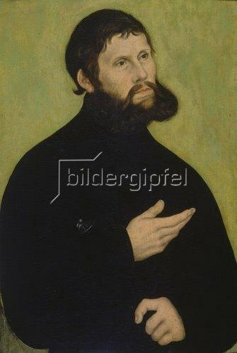 Lucas Cranach d.Ä.: Martin Luther als Junker Jörg.
