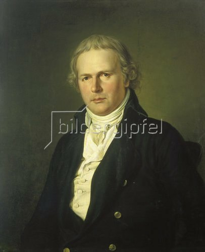 Johann Erdmann Hummel: Bildnis des Aloys Hirt.