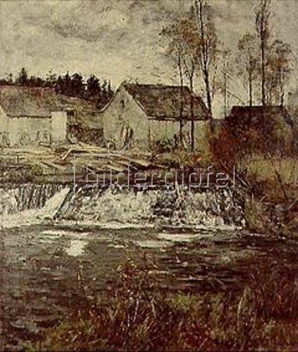 Christian Rohlfs: Schneidemühle an der Ilm.