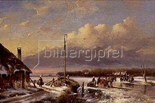 Hendrik Manfried Haus: Eisvergnügen.