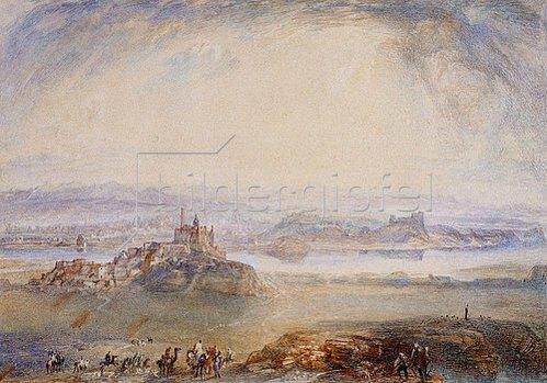 Joseph Mallord William Turner: Ninive, Mosul am Tigris. Um 1832/34