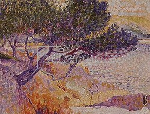 Henri Edmond Cross: La bay de Cavaliere.