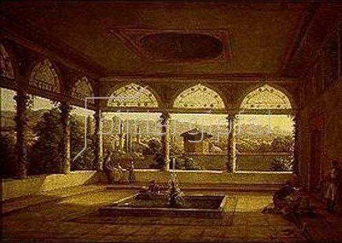 Nikanor Grigorj Tschernezow: Blick aus dem Bakschisaray-Palast in Krimea. 1830.
