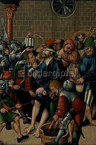 Lucas Cranach d.Ä.: Die Verspottung Christi. Um 1515/1520.