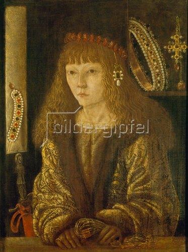 Ferraresisch: Verlobungsbild des Johannes Corvinus.