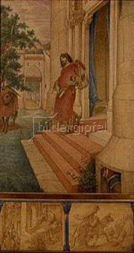 Edward Jakob von Steinle: Aus dem Parsifal-Zyklus: Parsifals Schuld