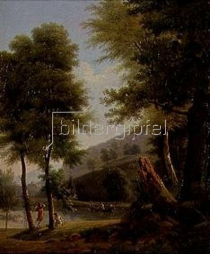 Jean Victor Bertin: Idyllische Landschaft.