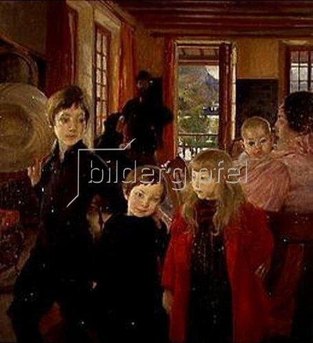 Albert Besnard: Die Familie des Künstlers. 1890.
