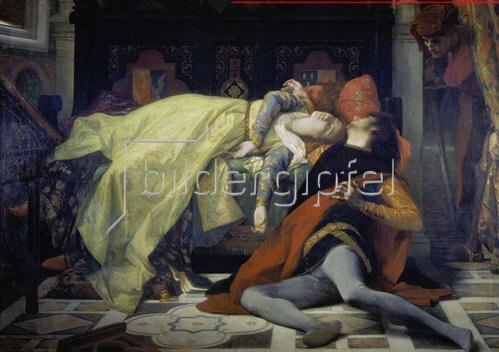 Alexandre Cabanel: Der Tod der Francesca da Rimini und des Pablo Malateste. 1870.