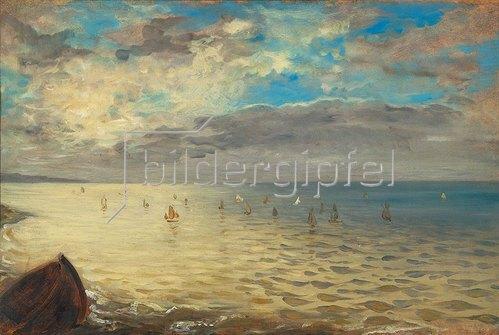 Eugene Delacroix: Das Meer, von den Höhen bei Dieppe gesehen. 1852.