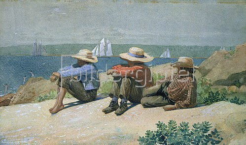 Winslow Homer: Knaben am Meeresstrand.