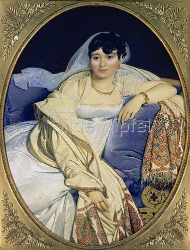 Jean Auguste Dominique Ingres: Bildnis der Madame Riviere. 1805.