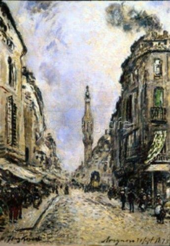 Johan Barthold Jongkind: Avignon. 1873.