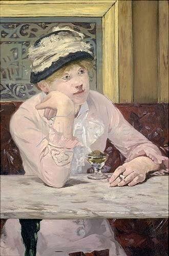 Edouard Manet: Der Pflaumenschnaps (La prune).