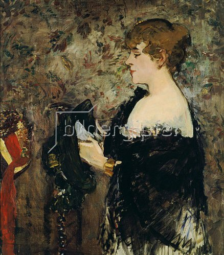 Edouard Manet: Die Modistin. 1881