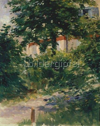 Edouard Manet: Allee im Garten von Rueil.