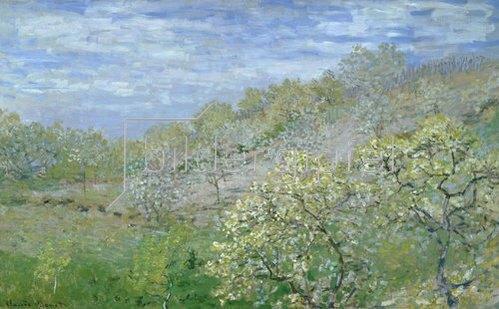 Claude Monet: Bäume in Blüte.