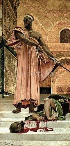 Henri Alexandre G Regnault: Hinrichtung während der maurischen Herrschaft in Granada. 1870.