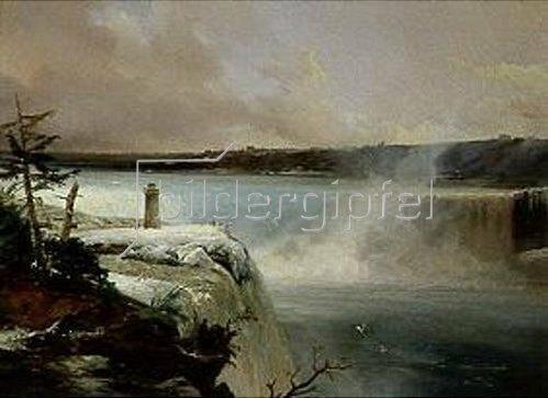 Charles Rémond: Die Niagara-Fälle. 1838/1840.