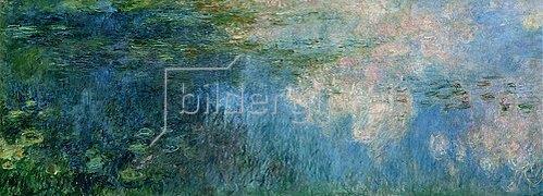 Claude Monet: Nymphéas (Seerosen). Paneel C II.
