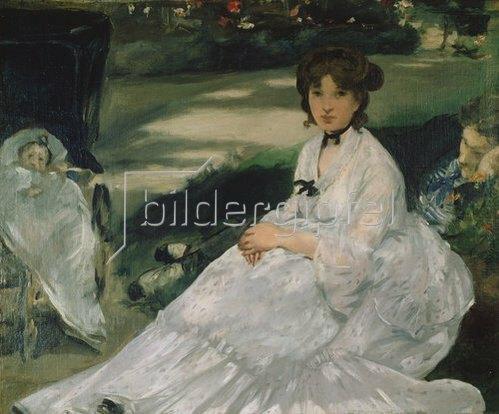 Edouard Manet: Im Garten. 1870