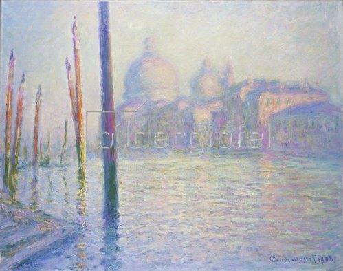 Claude Monet: Venedig, Santa Maria de la Salute. 1908