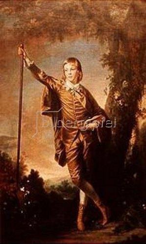 Sir Joshua Reynolds: Master Thomas Lister (Der Knabe in Braun). 1764