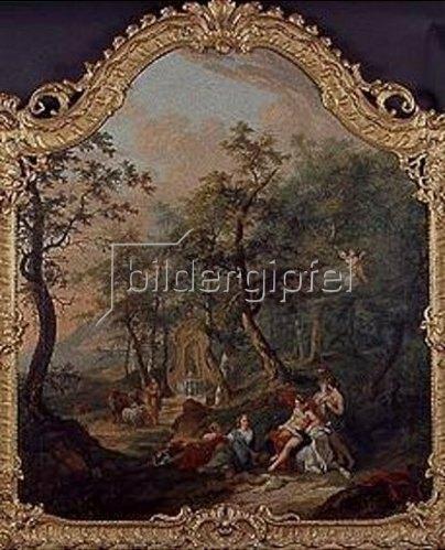 Johann Balthasar Bullinger d.Ä.: Raub der Europa. 1752