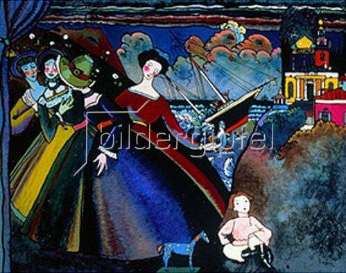 Wassily Kandinsky: Schiff. Um 1918.