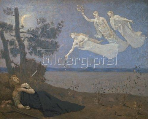 Pierre Puvis de Chavannes: Der Traum. 1883.