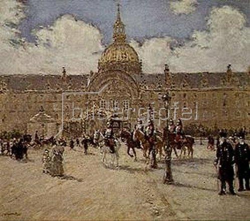 Jean François Raffaelli: Die Veteranen.