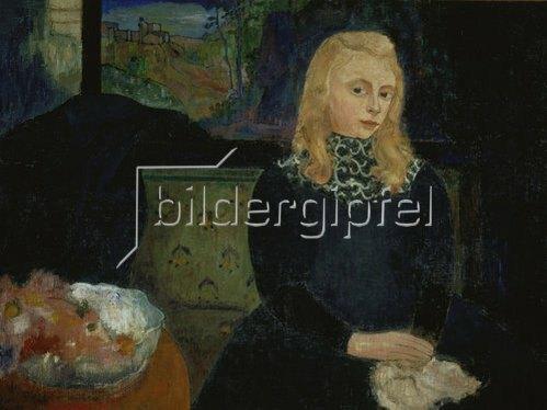 Armand Seguin: Gabrielle Vien als Kind (später bekannt als Marie Jade, Schriftstellerin). 1893.
