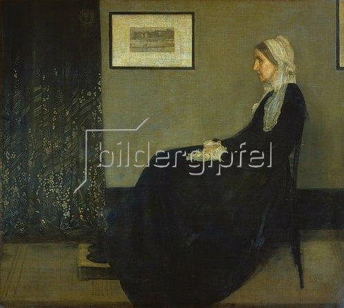 James McNeill Whistler: Die Mutter des Künstlers. 1871.