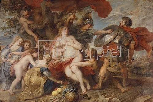 Peter Paul Rubens: Friedensallegorie (Krieg und Frieden). Um 1630