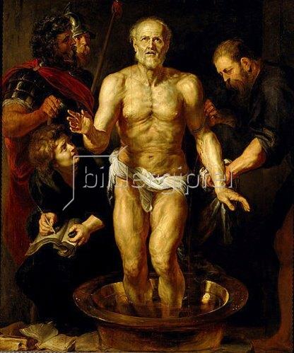 Peter Paul Rubens: Der sterbende Seneca. Um 1611