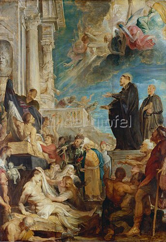 Peter Paul Rubens: Die Wunder des hl. Franz Xaver