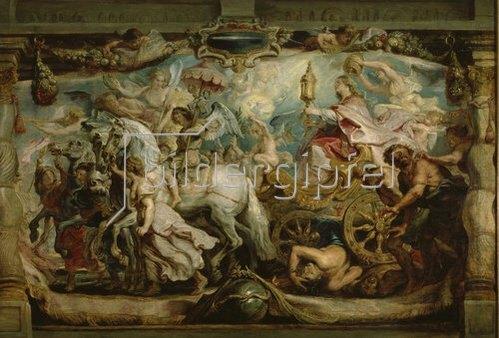 Peter Paul Rubens: Der Triumphzug der Ecclesia. (Triumph d.Eucharistie über Unwissenheit und