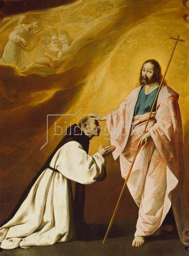 Francisco Zurbaran y Salazar: Die Vision des Padre Salmeron. 1639