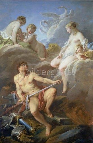 François Boucher: Venus erbittet von Mars Waffen für Aeneas. 1732.