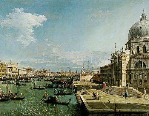 Canaletto (Giovanni Antonio Canal): Venedig, Santa Maria della Salute.