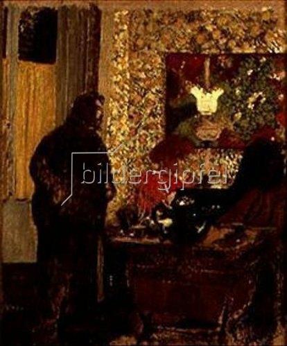 Edouard Vuillard: Misia Natanson am Klavier (mit Cipa Godebski).
